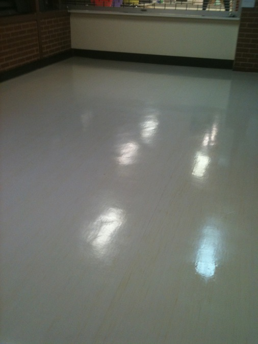 Lino Floor Polishing