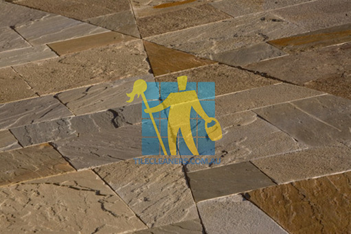 bluestone_tiles custom cut driveway natural cleft