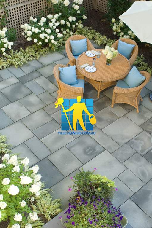 Adelaide bluestone tile cleaning experts adelaide tile for Outdoor garden designers adelaide