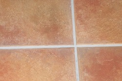 grout colour after sealing by tile cleaners Sunshine Coast