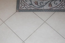 before sealing grout colour by tile cleaners Sunshine Coast