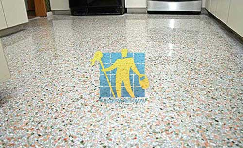 how to clean and polish terrazzo floors