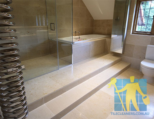 Limestone Floor Tile Siena Honed Bathroom Cleaning