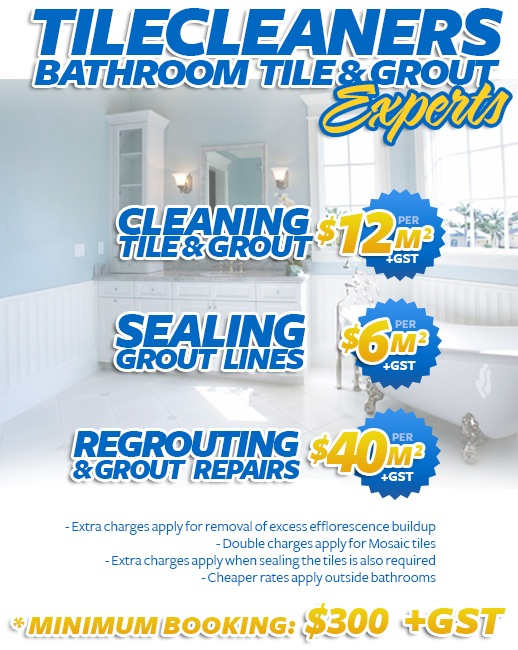 Bathroom Tile Cleaning Sealing Regrouting Melbourne