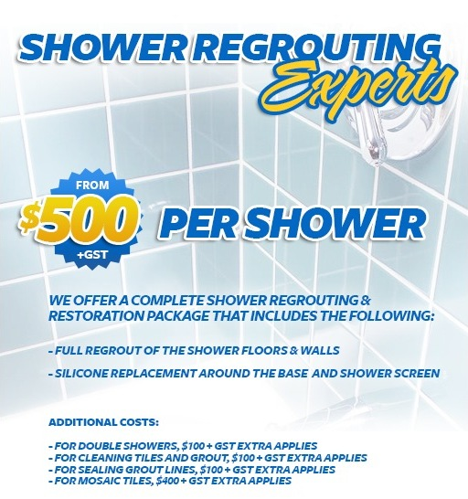 shower regrouting and restoration Perth. PERTH TILE REGROUTING   PERTH TILE CLEANERS