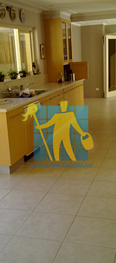 porcelain tiles floor inside furnished home after cleaning kitchen floors Sydney