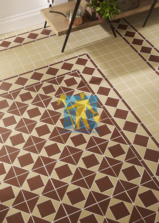 Brisbane Buxton Red Ivory Quarry Tile Cleaning & Sealing