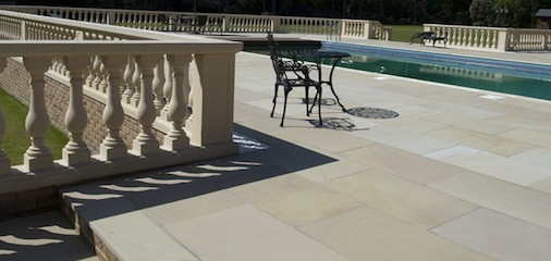 Sandstone Tile Outdoor Cleaning