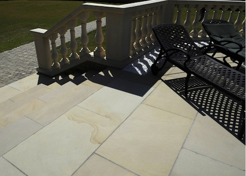 Sandstone Tile Stairs Cleaning