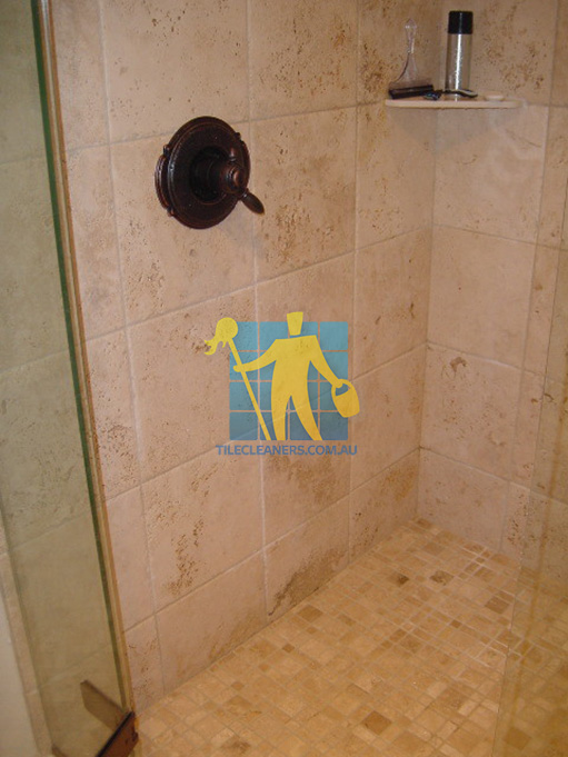 shower with natural stone tiles for home design clean Perth. PERTH CLEANING SHOWER TILES   PERTH TILE CLEANERS