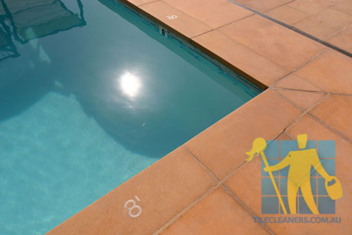 Outdoor Terracotta Tiles around Pool