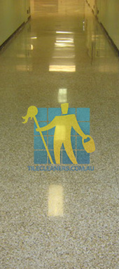 terrazzo floor tiles traditional hall very large tiles Adelaide