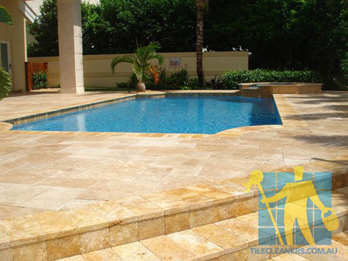 outdoor travertine sealing
