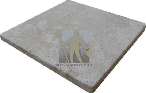 travertine paver sample