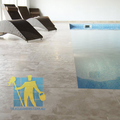 Travertine Tile Swimming Pool Sealed